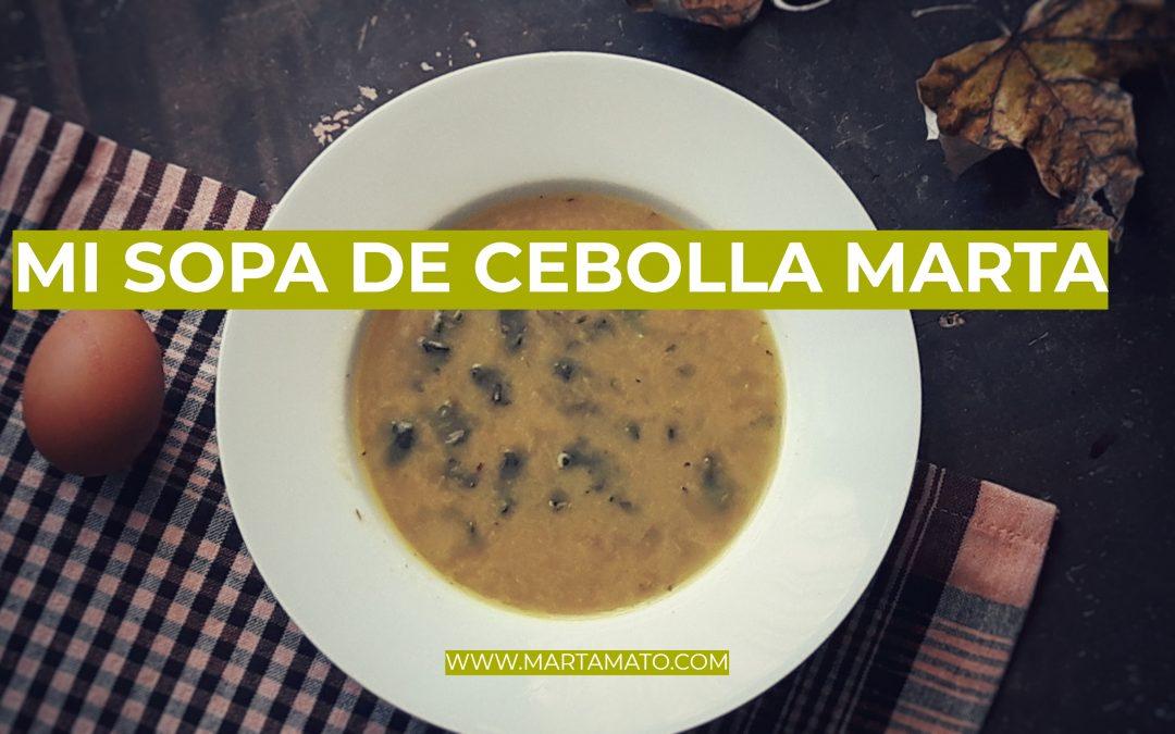 Video-receta: mi sopa de cebolla antigripe