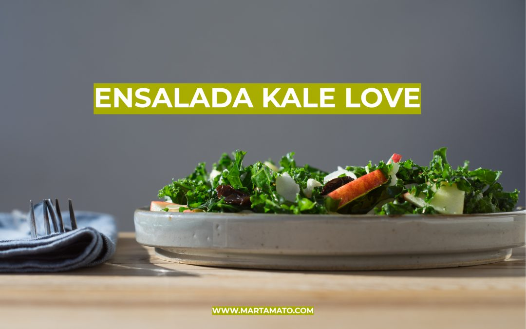 Video-receta: Ensalada kale love