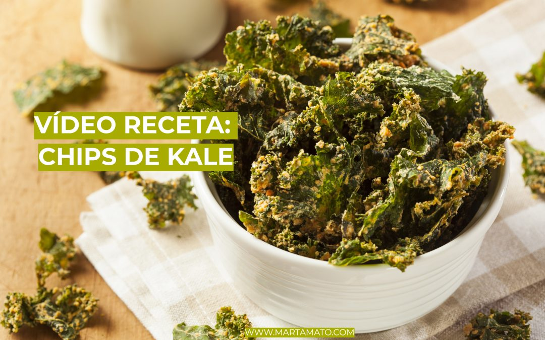 Video receta: chips de kale