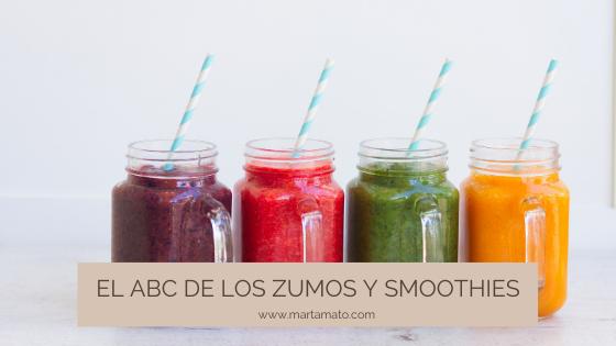 El ABC de zumos y smoothies