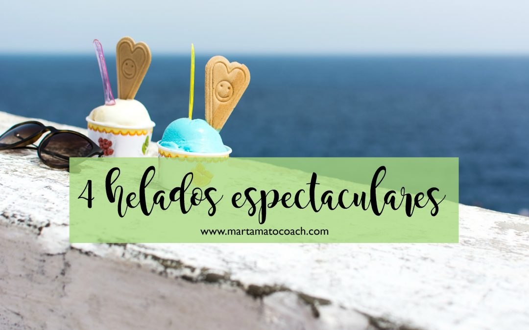 4 helados espectaculares