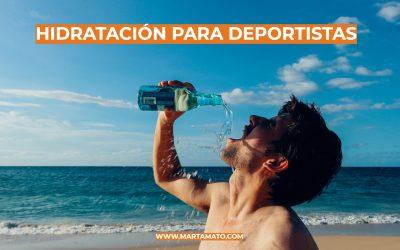 Hidratación para deportistas