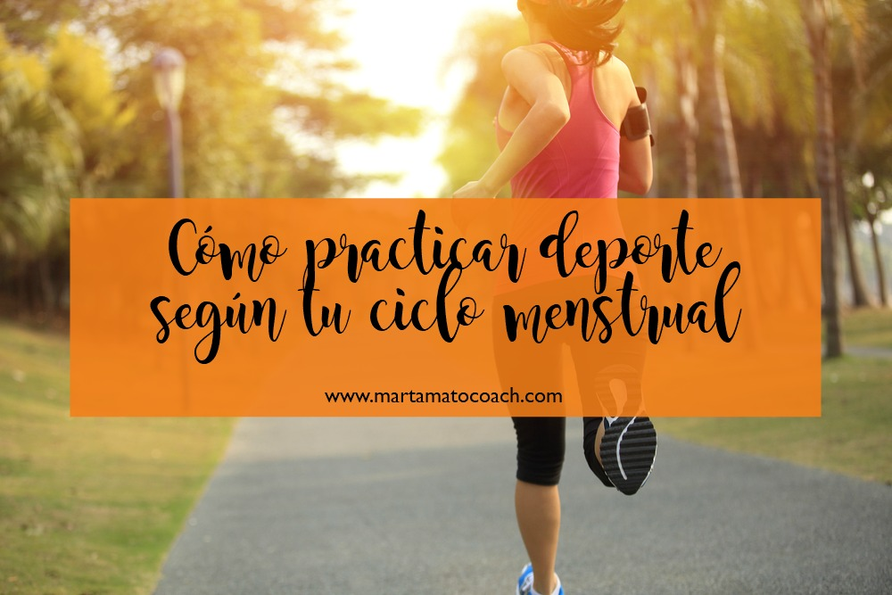 Cómo practicar deporte según tu ciclo menstrual