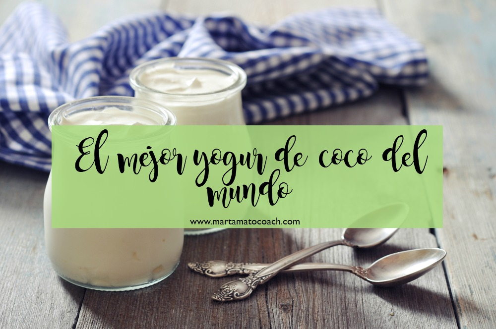 El mejor yogur de coco del mundo