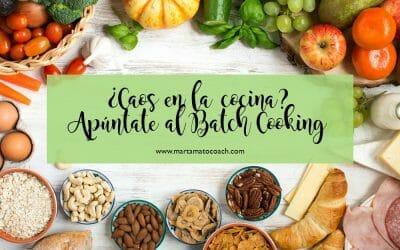 ¿Caos en la cocina? Apúntate al Batch Cooking
