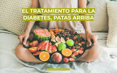 El tratamiento para la Diabetes, patas arriba