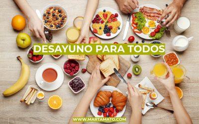 Desayuno para todos