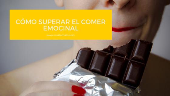 Cómo superar el comer emocional