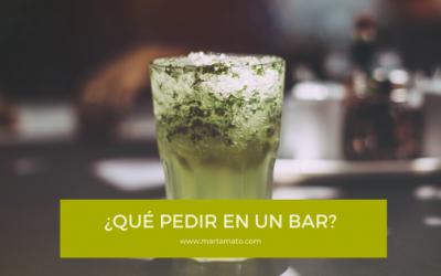 ¿Qué pedir en un bar?