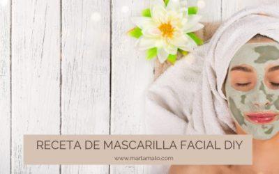 Receta de mascarilla facial DIY
